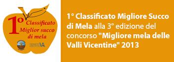 Concorso Migiore Mela delle Valli Vicentine 2013