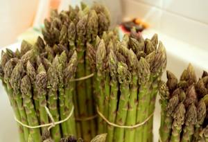 asparagi verdi biologici